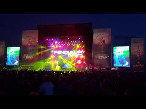 Pendulum DJ Set live - The Island- Pt. I (Dawn) [Skrillex Remix]