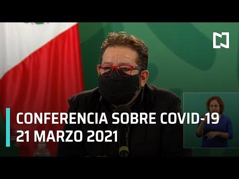 Informe diario Covid-19 en Vivo - 21 de Marzo 2021