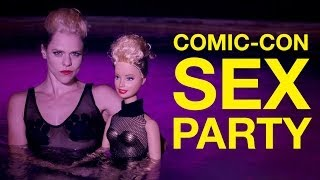 "Miley Cyrus ""We Can't Stop"" Parody (Comic-Con Sex Party)"