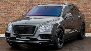 2017 Bentley Bentayga W12 - Anthracite - Walkaround, Interior & Exhaust Sound - High Quality