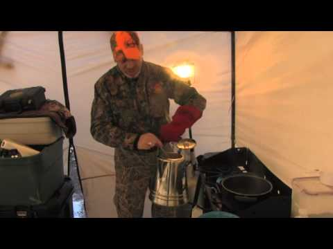 Egg Coffee in Camp
