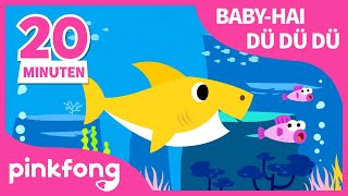 Baby Hai dü dü dü dü dü dü | Tierlieder | Baby Shark Deutsch | Pinkfong Kinderlieder