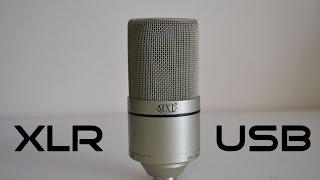 XLR vs USB Microphones 2015