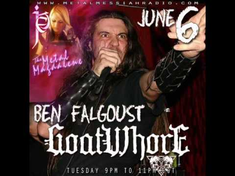 Ben Falgoust of Goatwhore interview on The Metal Magdalene w Jet