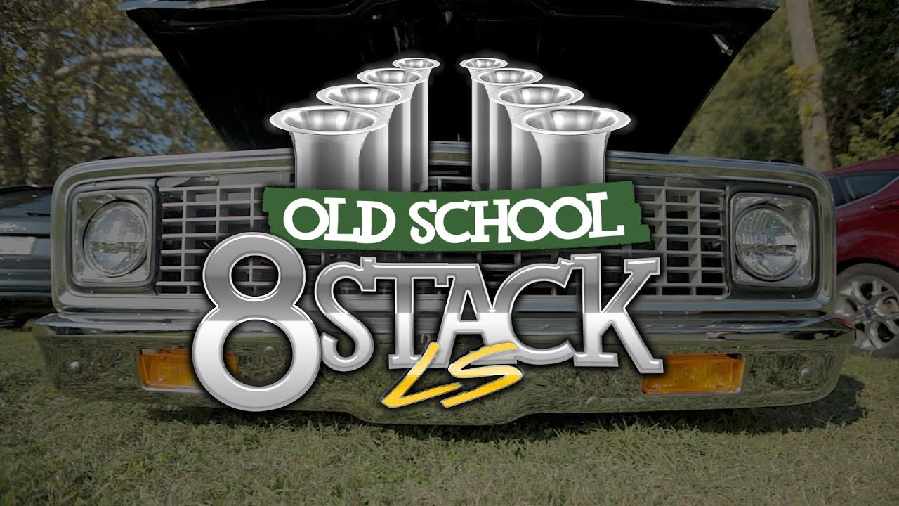 Steven Austin's Old School 8 Stack LS