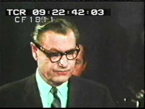 Nelson Rockefeller Announces Candidacy For The Presidency 1968
