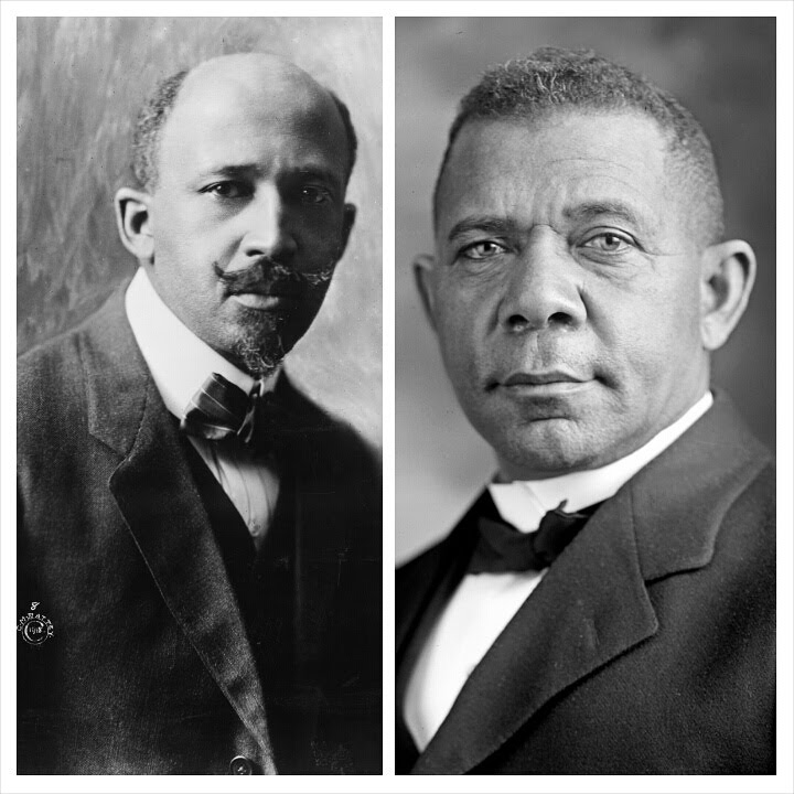 Image result for web dubois booker t washington