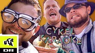 KOPS og Jannik får elektrisk chok i Cykel Karaoke | Ultra