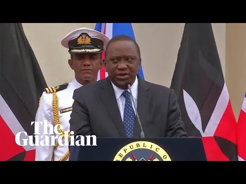 Kenyan president struggles to remember Boris Johnson's name