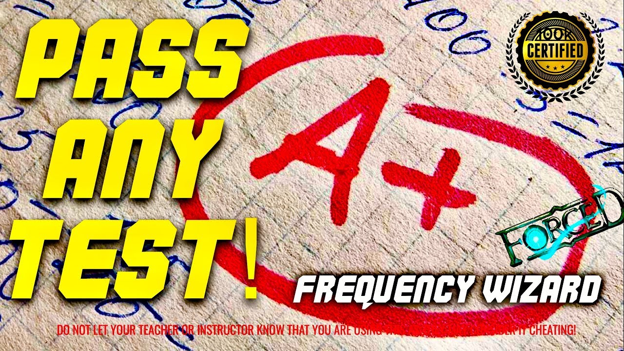 PASS ANY TEST OR EXAM FAST! (STUDY MUSIC) GET THE BEST GRADES SUBLIMINAL HYPNOSIS FREQUENCY WIZARD