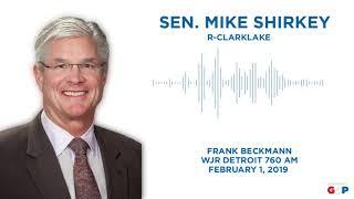 Sen. Shirkey joins Frank Beckmann to discuss gas taxes