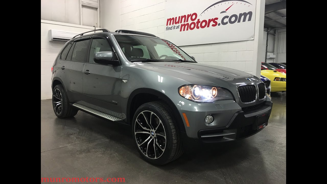 2007 Bmw X5 3 0s Sold Panoramic 7 Seater 20 Staggered And Winter Wheels Munro Motors
