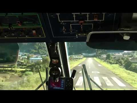 360° Cockpit view - Boeing 747-400F Landing - YOUTUBE