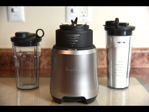 Breville Boss To Go Personal Blender review! Nutri Ninja challenged!
