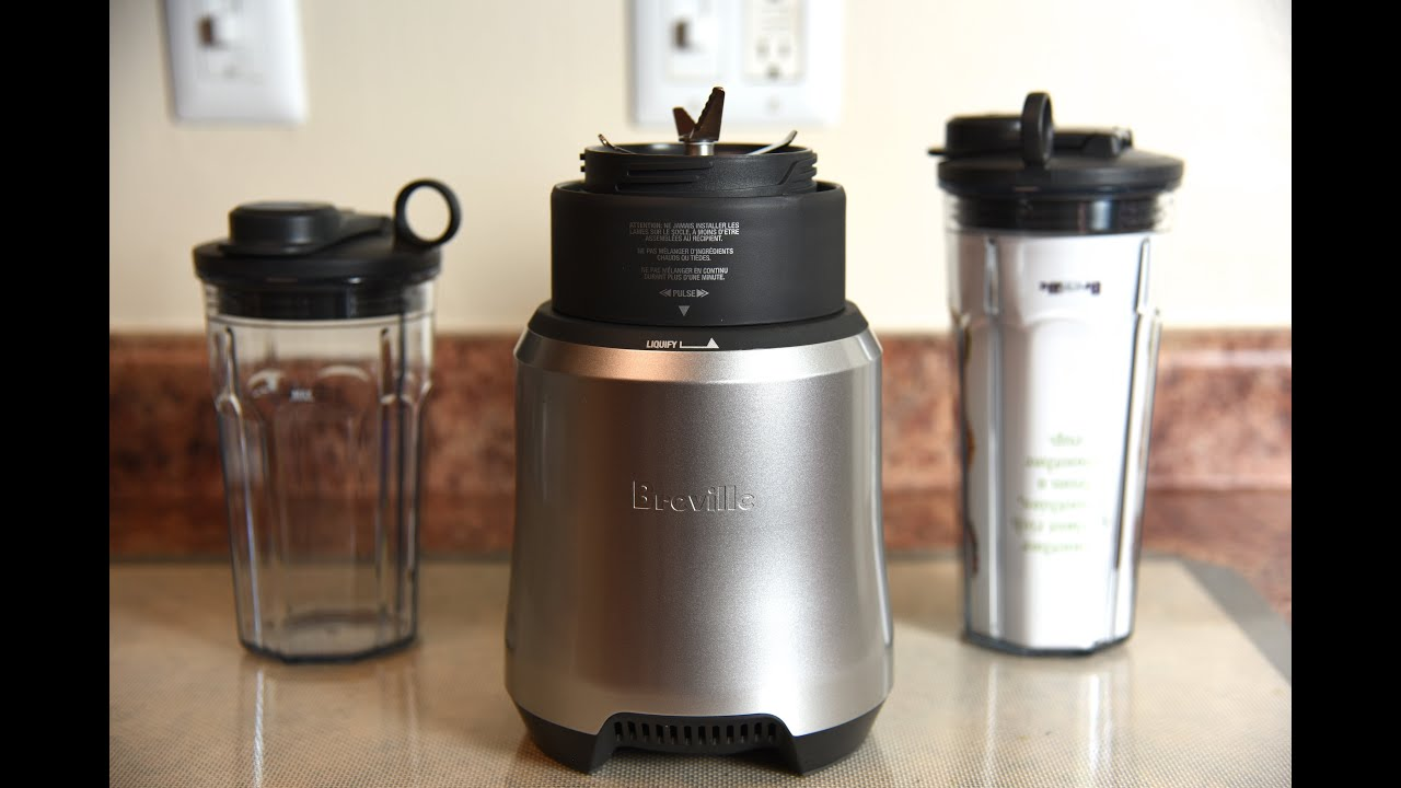 Breville Boss To Go Personal Blender Review Nutri Ninja Challenged Youtube