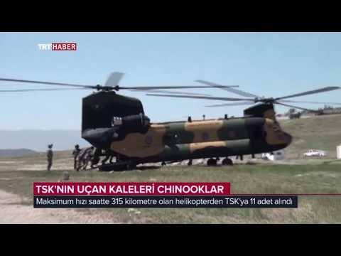 TSK'NIN UÇAN KALELERİ CH-47 CHINOOK'LAR