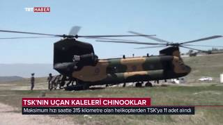 TSKNIN UAN KALELER CH-47 CHINOOKLAR