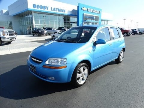 2006 Chevrolet Aveo Lt Review Find Used Cars At Bobby Layman Chevy