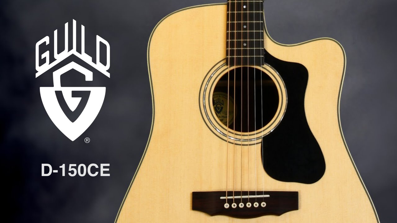 guild d 150ce acoustic electric guitar review by sweetwater youtube