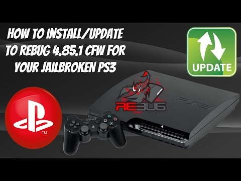 How To Install/Update To Rebug 4.85.1 Lite CFW For Your Jailbroken PS3! 🔥 #REBUG #PS3Jailbreak