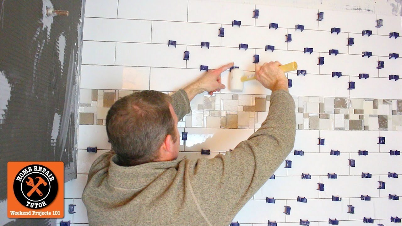 How To Tile A Shower With Subway Tile...Main Shower Wall