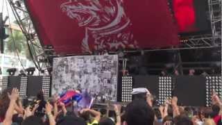 Dog Blood (Skrillex & Boys Noize) @ Ultra Music Festival Weekend 1 3/17/13 [HD] (UNRELEASED TRACKS)