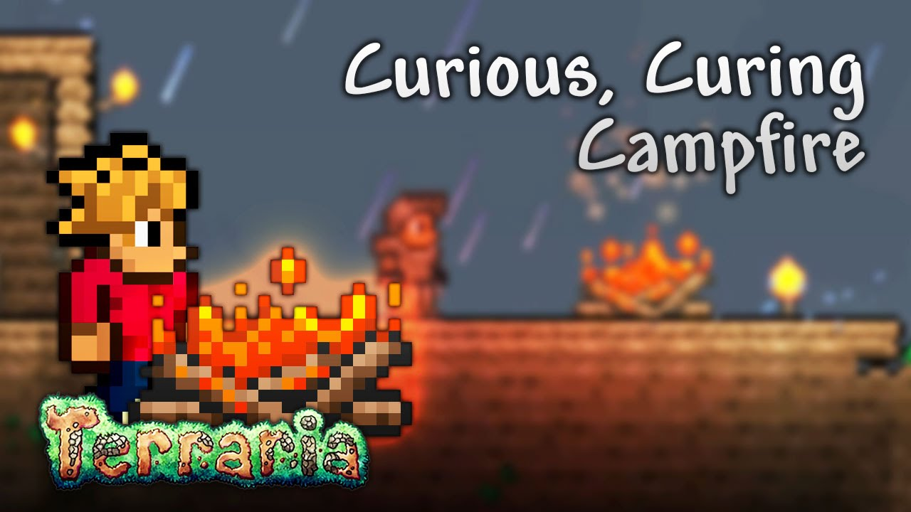 Terraria Let's Play - Curious, Curing, Campfire [3]