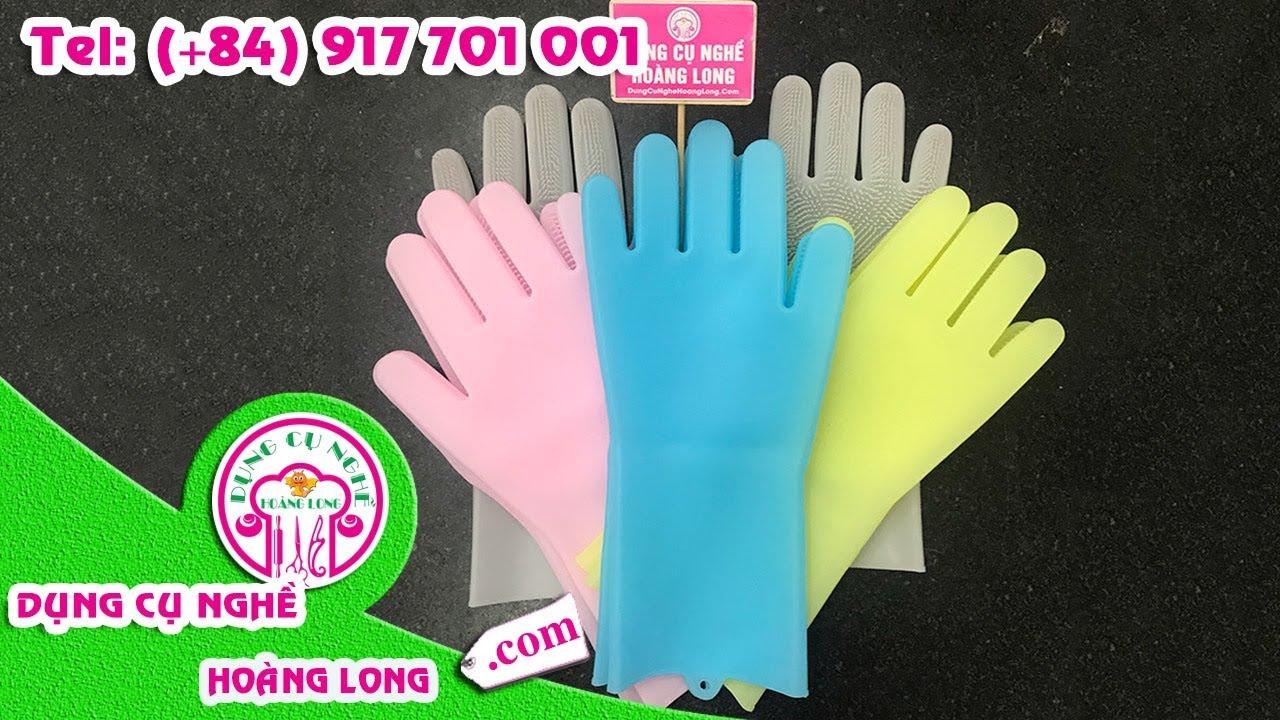 1 Cặp 2 Găng tay đa năng - Magic Silicone Washing Gloves
