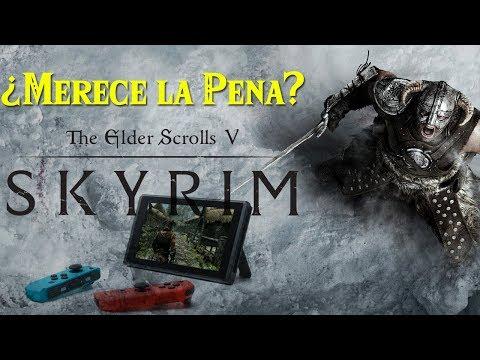 ¿Debes Jugar Skyrim en Nintendo Switch? Review | Análisis The Elder Scrolls V Skyrim Nintendo Switch
