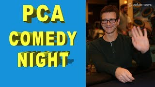 Comedy or Poker? Clayton Fletcher Says Both