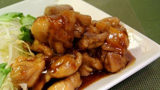 Make CHICKEN TERIYAKI with Marmalade+Soy Sauce!(No talk cooking 9)