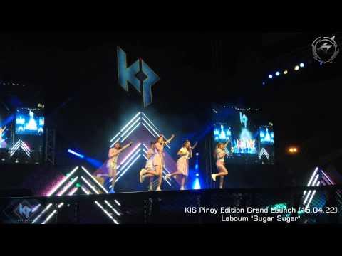 "Laboum ""sugar sugar"" on kis pinoy edition grand launch youtube."