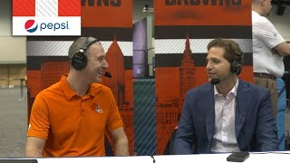 """Peter Schrager """"Joe Thomas has been a home run in the sports media"""""""