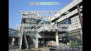 【千葉都市モノレール】2018年乗降客数ランキング!(#085)