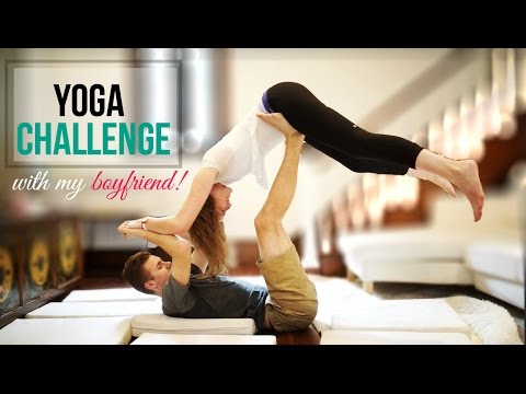 the yoga challenge feat. my boyfriend - youtube