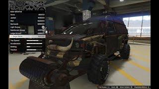 GTA 5 - Arena War DLC Vehicle Customization - Apocalypse Brutus