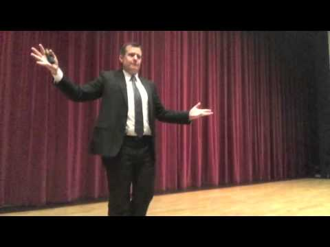 Funny Motivational / Leadership Speaker | Danny Brassell – Good Leaders Are Good Teachers