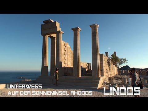 Unterwegs auf der Sonneninsel Rhodos - Lindos Teil 1 von5 - Reiseführer Travelguide Reisefilm