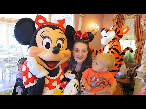 BREAKFAST WITH DISNEY! (6.29.14 - Day 520)