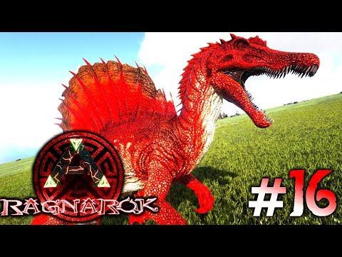 ARK: Ragnarok #16 - Der Vulkan bricht aus, ein Spino zähmen & die tödliche Lava! | LP Ark Deutsch
