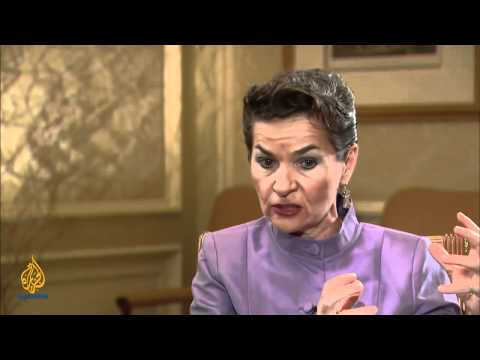 Talk to Al Jazeera - Christiana Figueres: The current of climate change