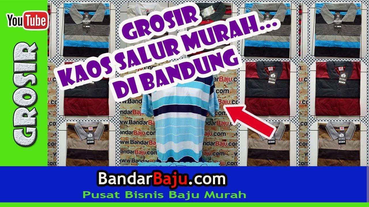 Tempat Belanja Grosir Kaos Salur Murah di Bandung  8e4acc3a53