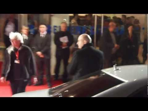 Mick Jagger leaving Hurricane Crossfire Rolling Stones UK Premiere 18th October 2012 Part 2