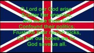 God Save The Queen - British National Anthem