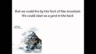 A-Ha - Foot Of The Mountain Lyrics