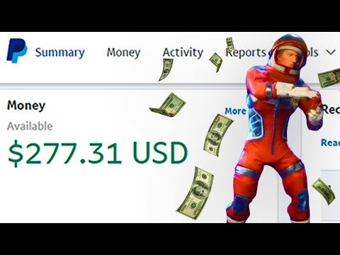 How to Make MONEY Playing FORTNITE!!