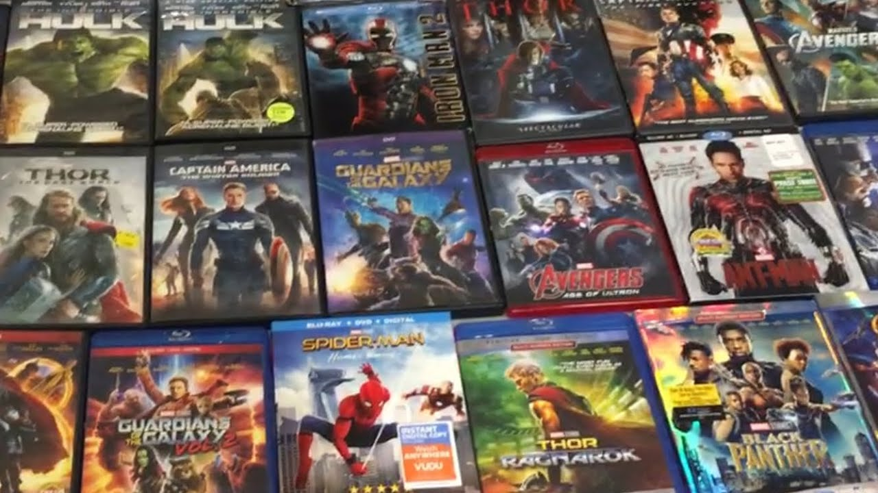 Marvel Cinematic Universe (MCU) - Film Collection 2019