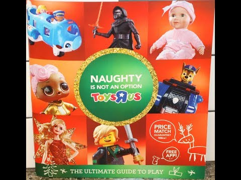 Looking Through the Toys R Us Christmas Catalogue 2017