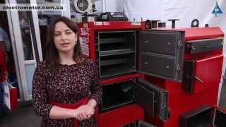 видео купить твердотопливный котел в Украине