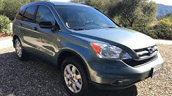 Problems to Look Out for When Buying a Used Honda CRV